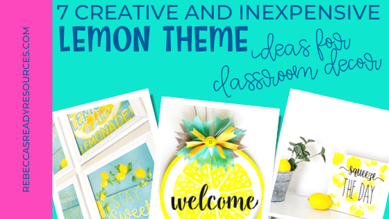 ideas for classroom decor lemon wreath posters canvas print